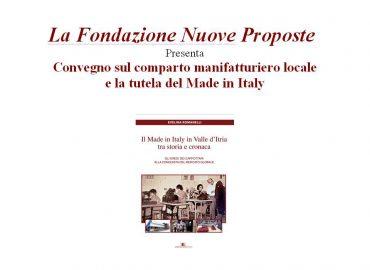 Il Made in Italy in Valle d'Itria tra storia e cronaca – Evelina Romanelli